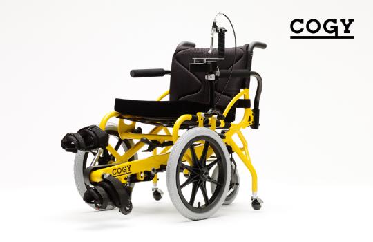 チェアサイクル(足こぎ車いす)COGY-01