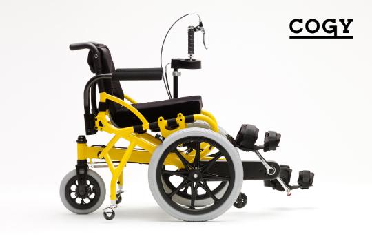 チェアサイクル(足こぎ車いす)COGY-02